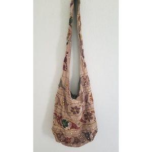 Boho festival sling bag purse
